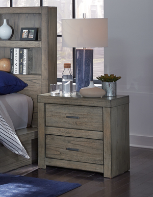 Thumbnail of ASPENHOME - Two Drawer Night Stand w/ Power