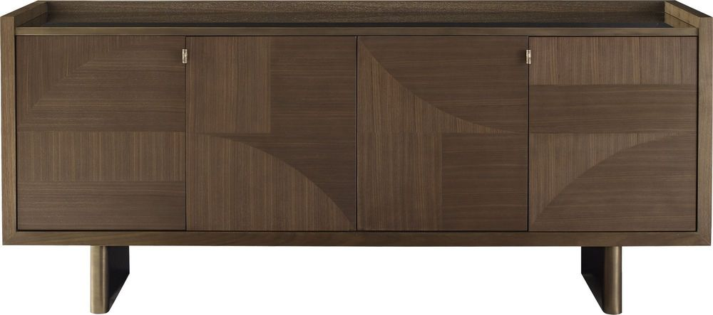 Baker Furniture - Modern Marquetry Server