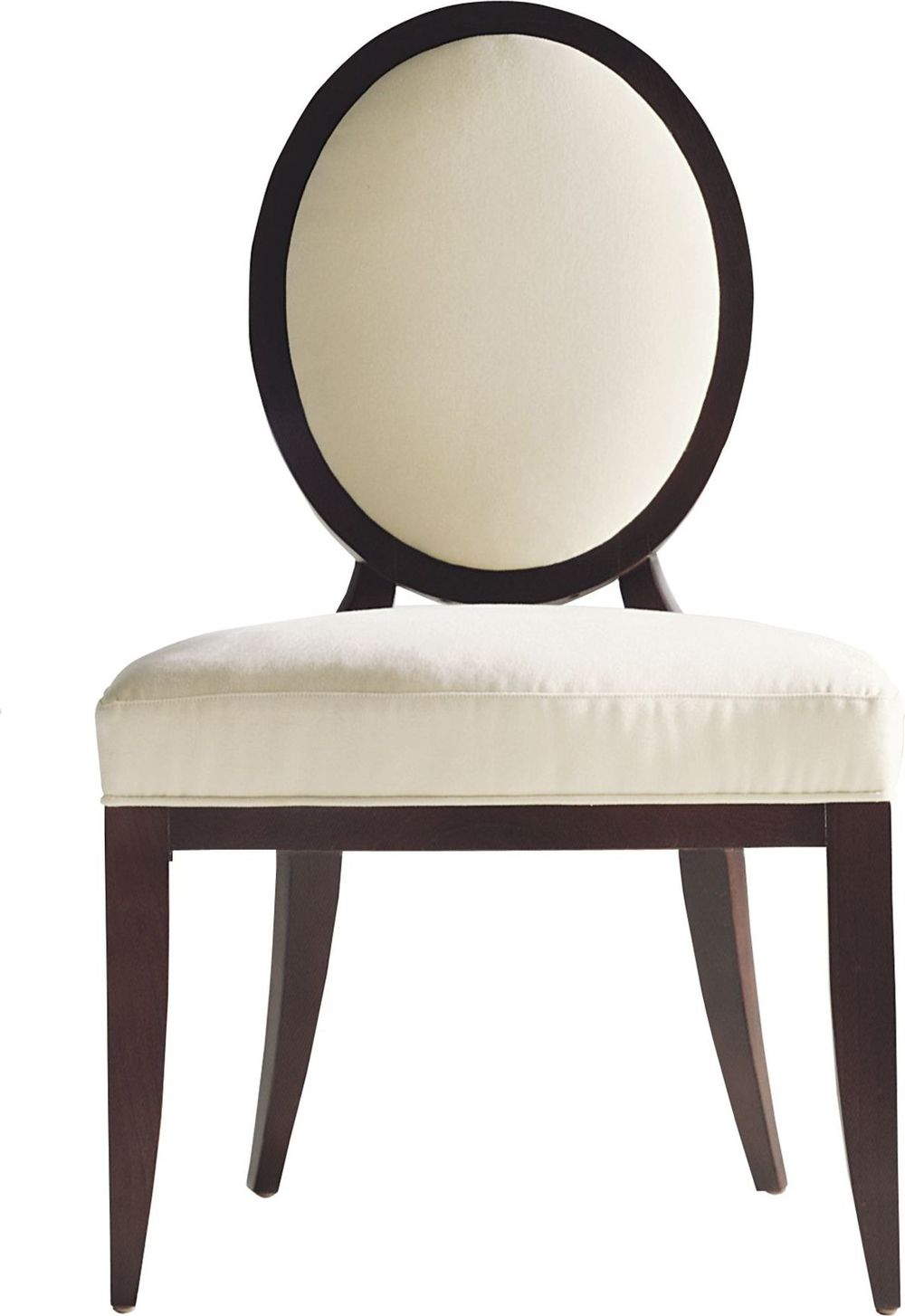 Baker Furniture - Oval X-Back Dining Side Chair
