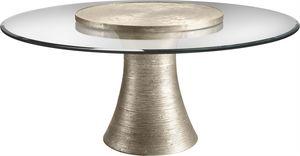 "Thumbnail of Baker Furniture - Katoucha 72"" Dining Table w/36"" Lazy Susan"