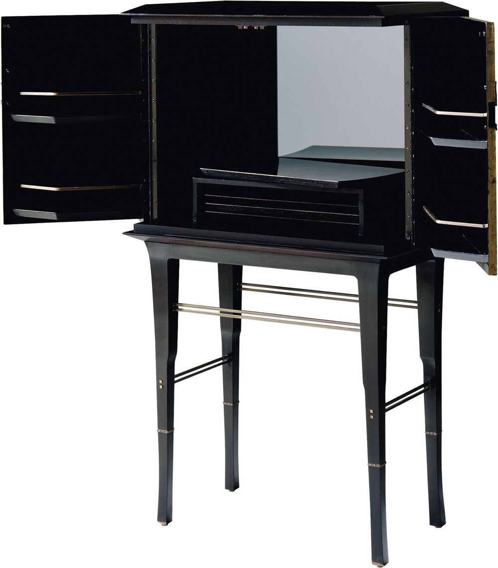 Baker Furniture - Kiosk Butlers Cabinet
