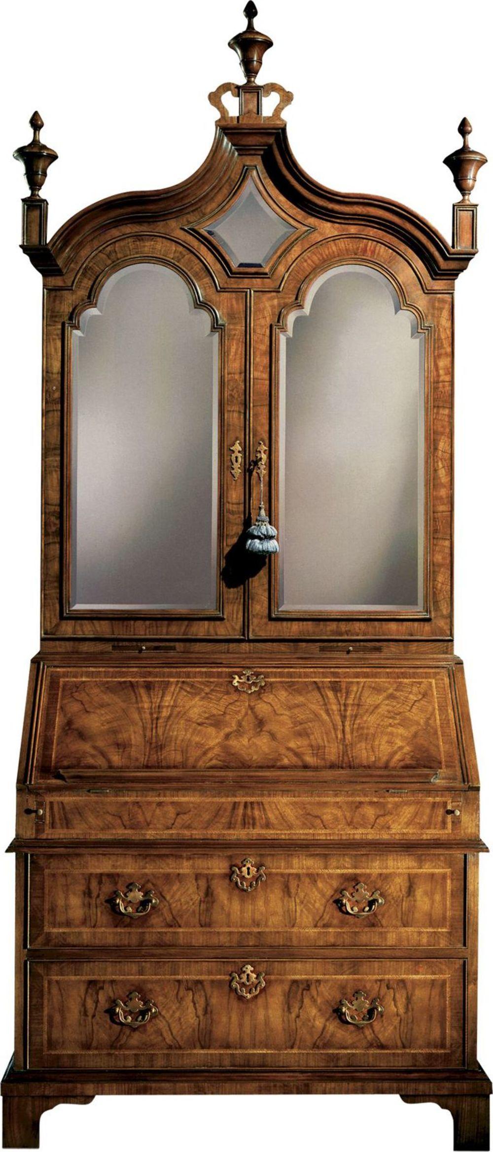 Baker Furniture - Queen Anne Bureau Cabinet