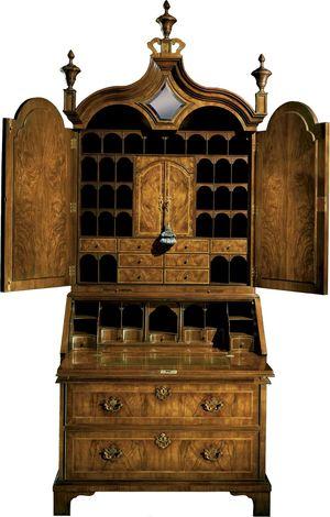 Thumbnail of Baker Furniture - Queen Anne Bureau Cabinet