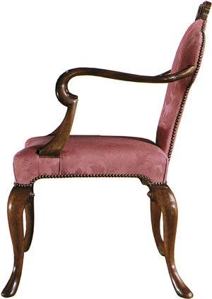 Thumbnail of Baker Furniture - Queen Anne Arm Chair