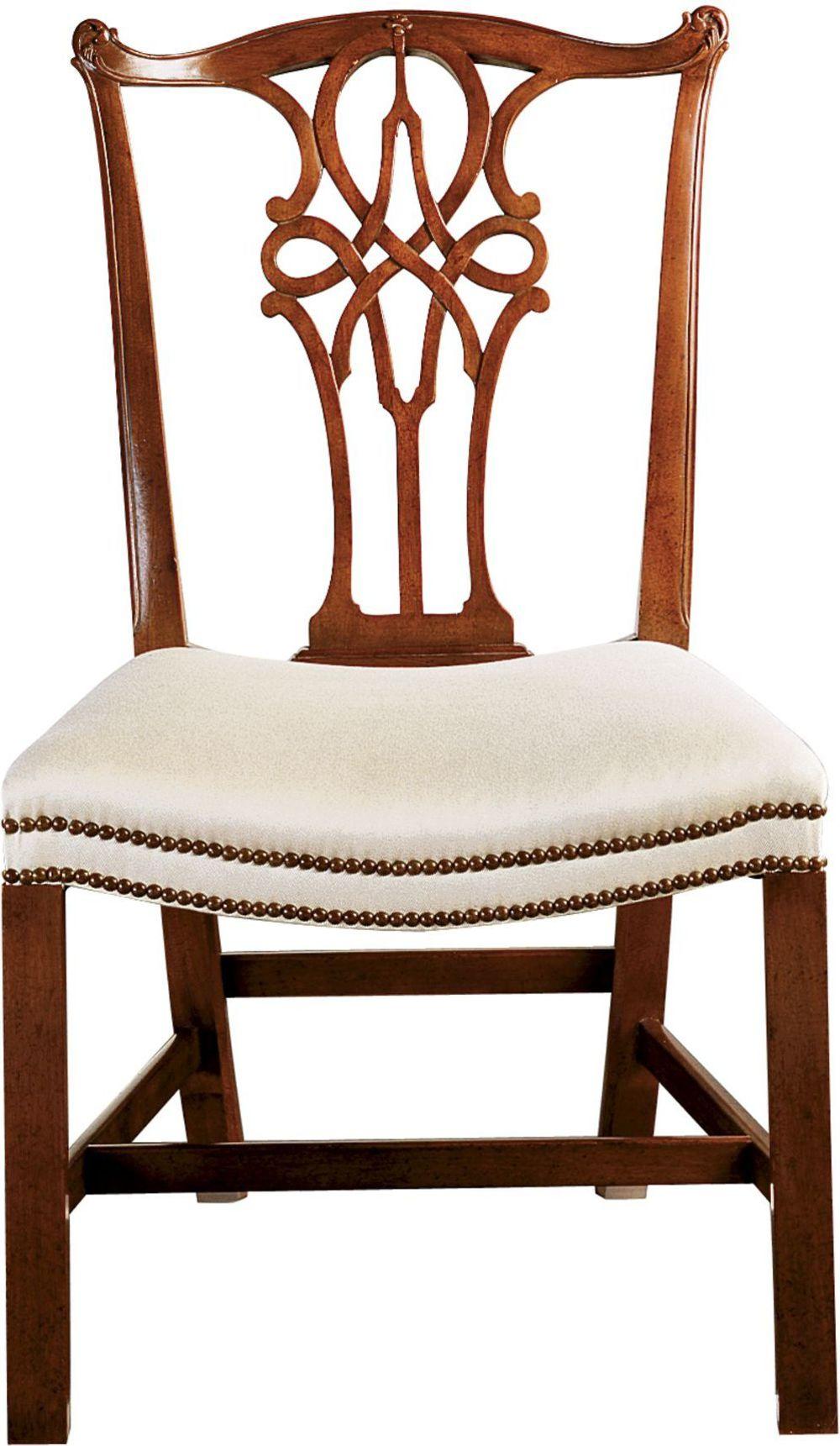 Baker Furniture - George III Mahogany Side Chair