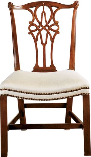 Thumbnail of Baker Furniture - George III Mahogany Side Chair