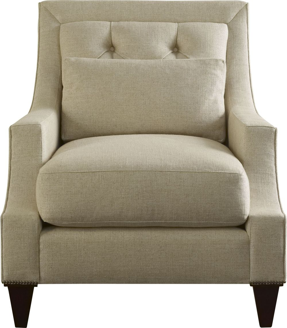 Baker Furniture - Max Club Chair - Tufted