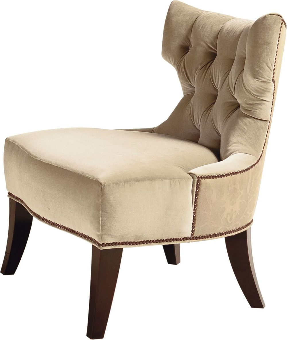 Baker Furniture - Tufted Back Lounge Chair
