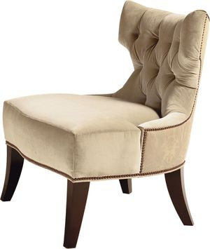 Thumbnail of Baker Furniture - Tufted Back Lounge Chair