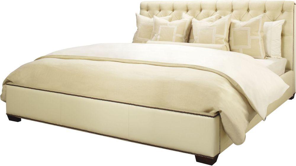 Baker Furniture - Tufted Paris Bed
