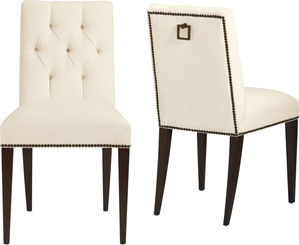Baker Furniture - St. Germain Tufted Side Chair