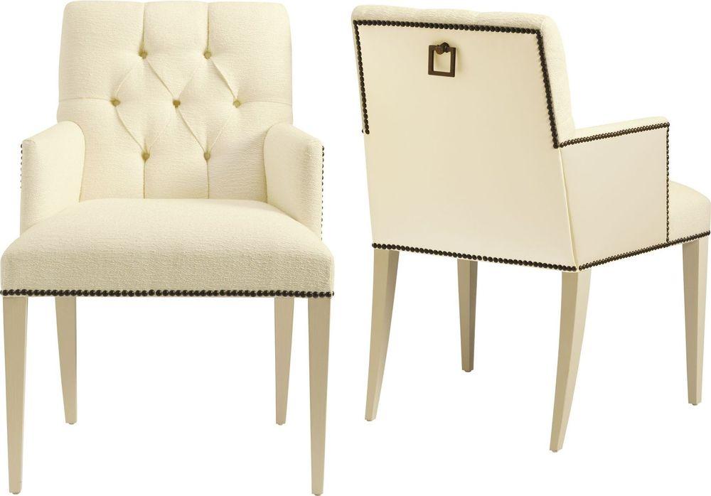 Baker Furniture - St. Germain Tufted Arm Chair