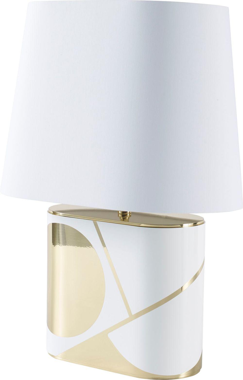 Baker Furniture - Taller Oval Table Lamp