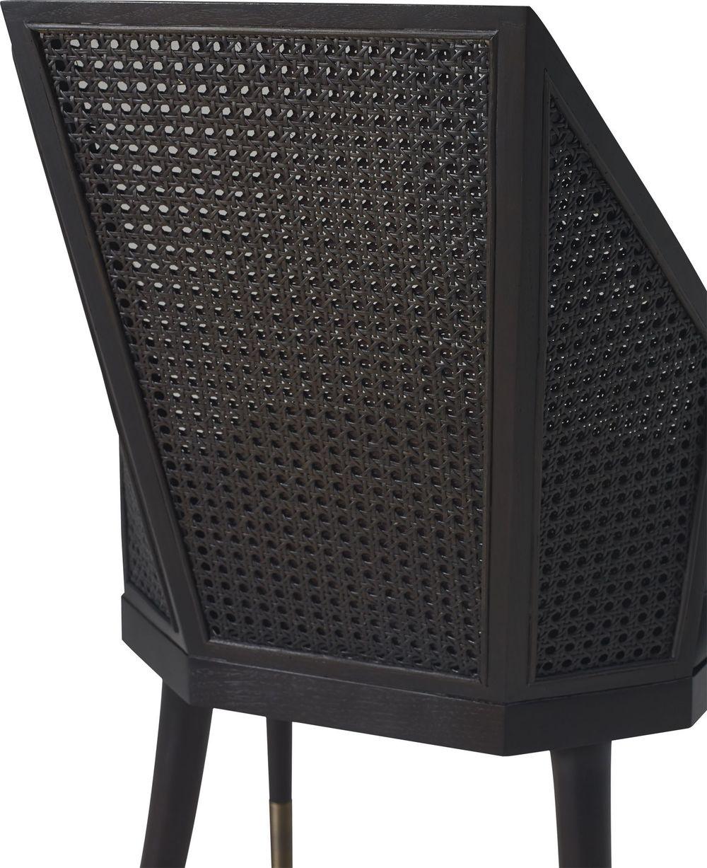 Baker Furniture - Cane Arm Chair