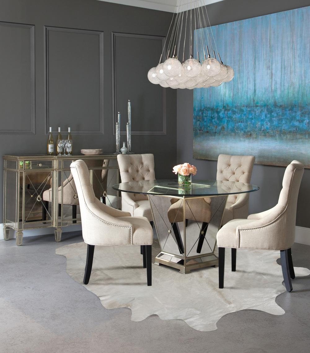Bassett Mirror Company - Borghese Mirrored Buffet/Server