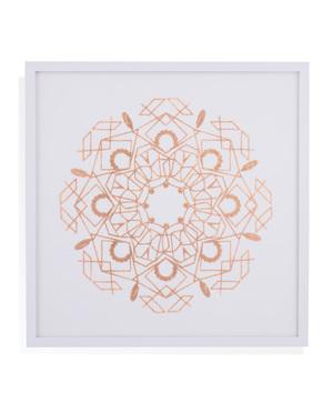Thumbnail of Bassett Mirror Company - Rose Foil Mandala IV
