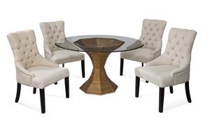 Thumbnail of Bassett Mirror Company - Fortnum Tufted Nailhead Parson Side Chair