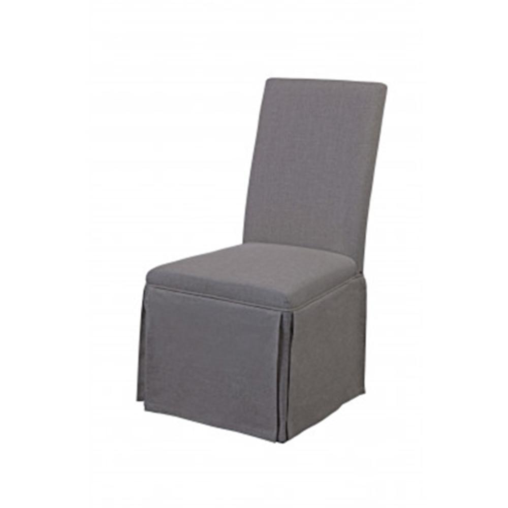 Bassett Mirror Company - Skirted Parsons Side Chair