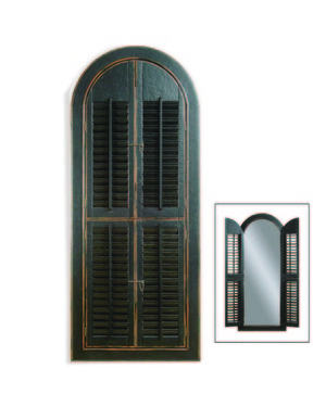 Thumbnail of Bassett Mirror Company - Arched Shutter Mirror