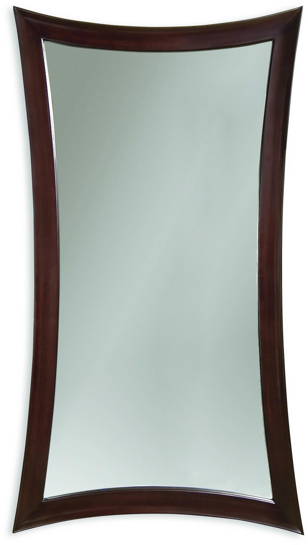 Bassett Mirror Company - Hour Glass Leaner Mirror