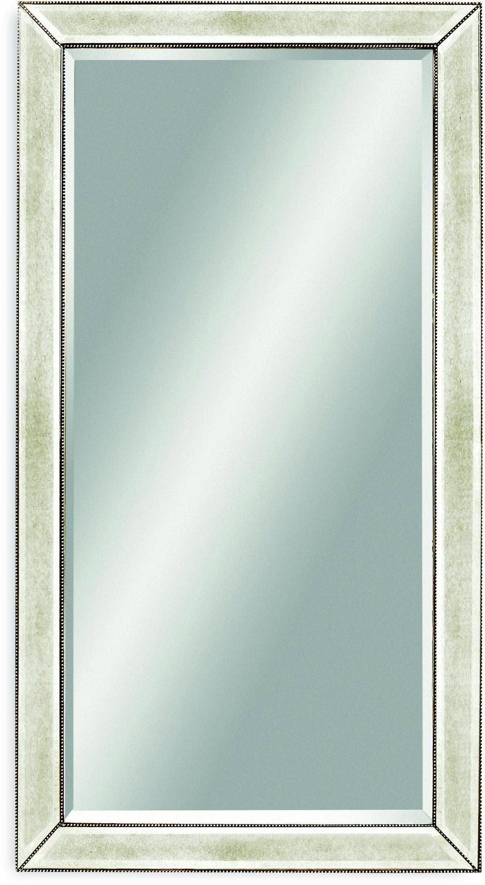 Bassett Mirror Company - Beaded Leaner Mirror