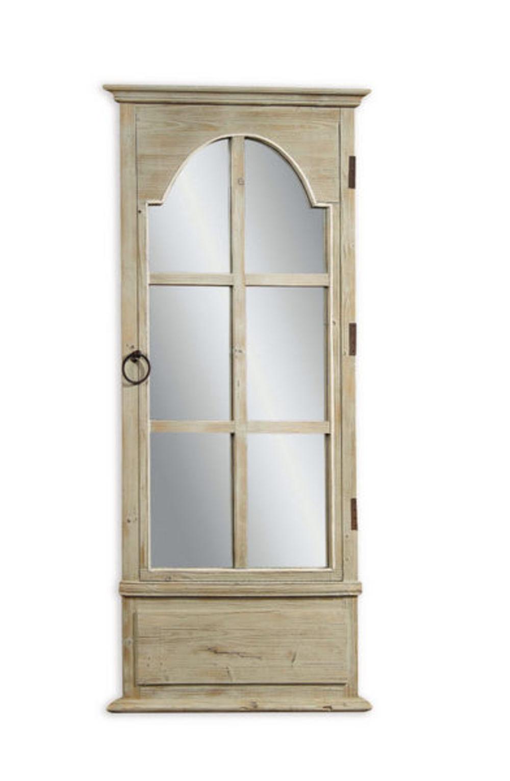 Bassett Mirror Company - French Door Leaner Mirror