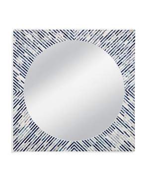 Thumbnail of Bassett Mirror Company - Sunburst Bone Wall Mirror