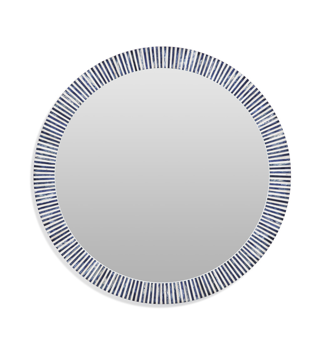 Bassett Mirror Company - Radial Bone Wall Mirror