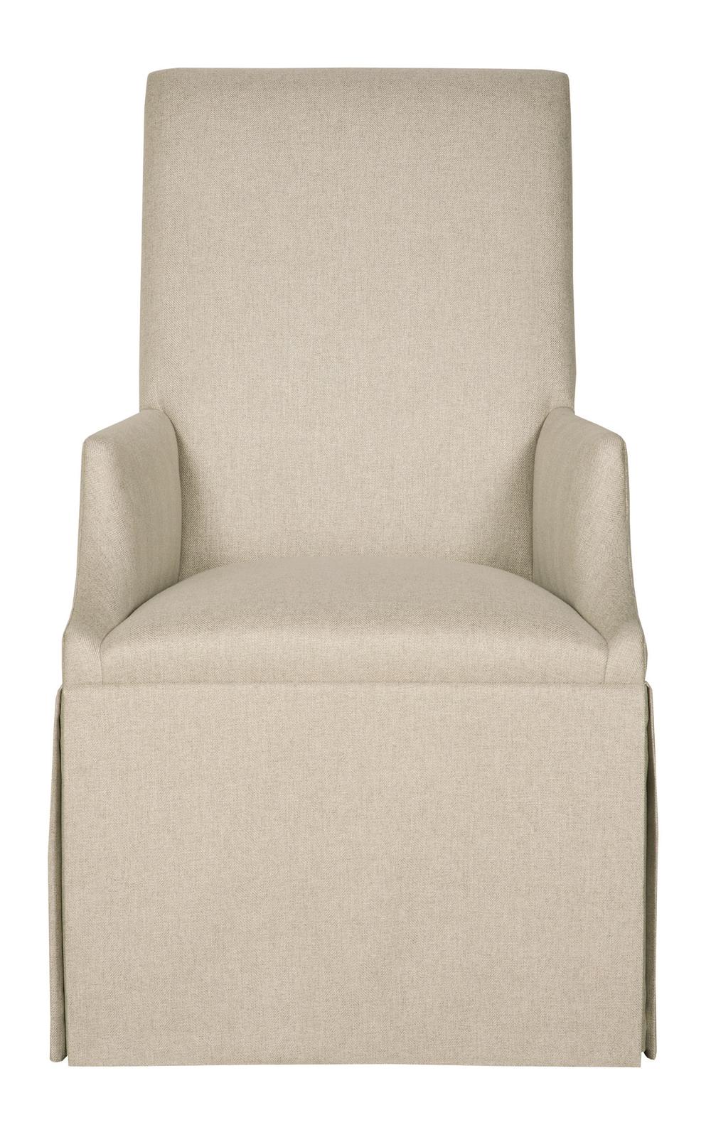 Bernhardt - Skirted Arm Chair