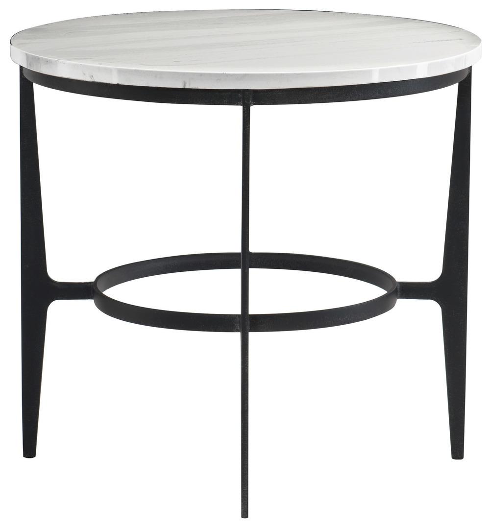 Bernhardt - Round Metal End Table