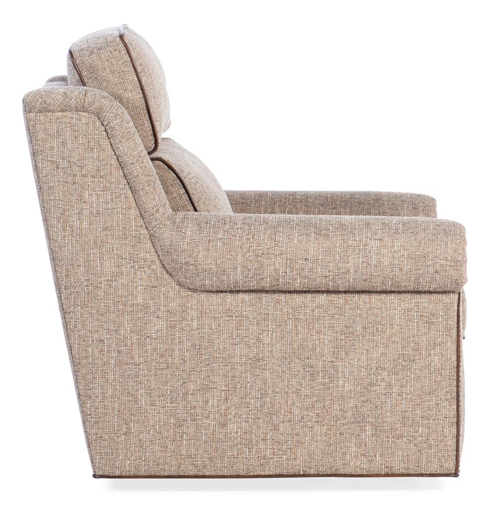 Bradington Young - Reece Swivel Chair, 2 pc Back
