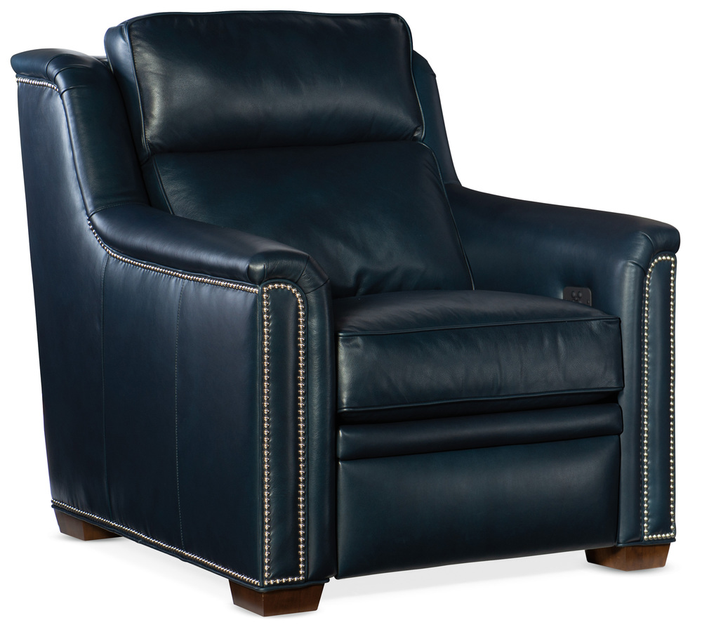 Bradington Young - Raiden Motion Recliner with Power Headrest, Two Piece Back