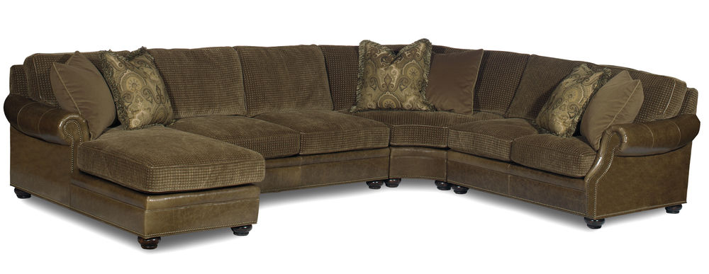 Bradington Young - Warner Sectional with Chaise