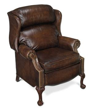 Thumbnail of Bradington Young - Maxwell Ball and Claw Reclining Wing Chair