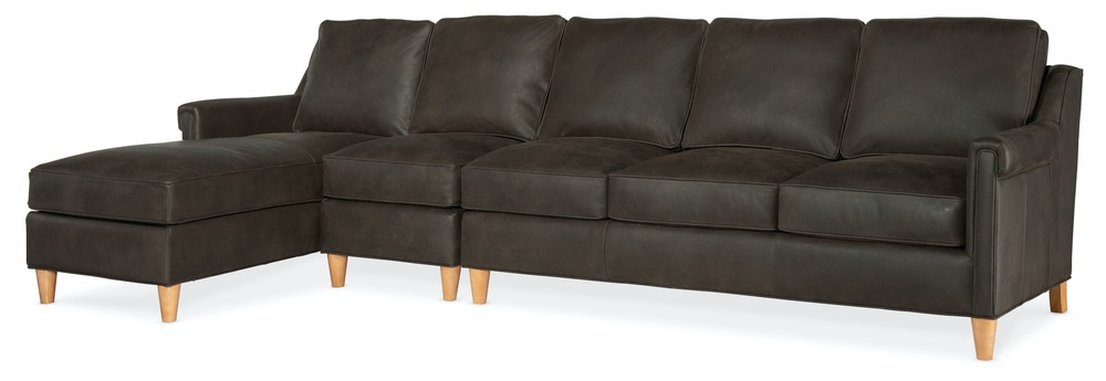 Bradington Young - Madison Three Piece Sectional with Chaise