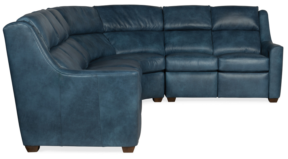 Bradington Young - Loewy Three Piece Reclining Sectional