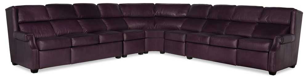 Bradington Young - Cherrie Five Piece Reclining Sectional