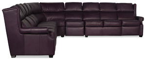 Thumbnail of Bradington Young - Cherrie Five Piece Reclining Sectional