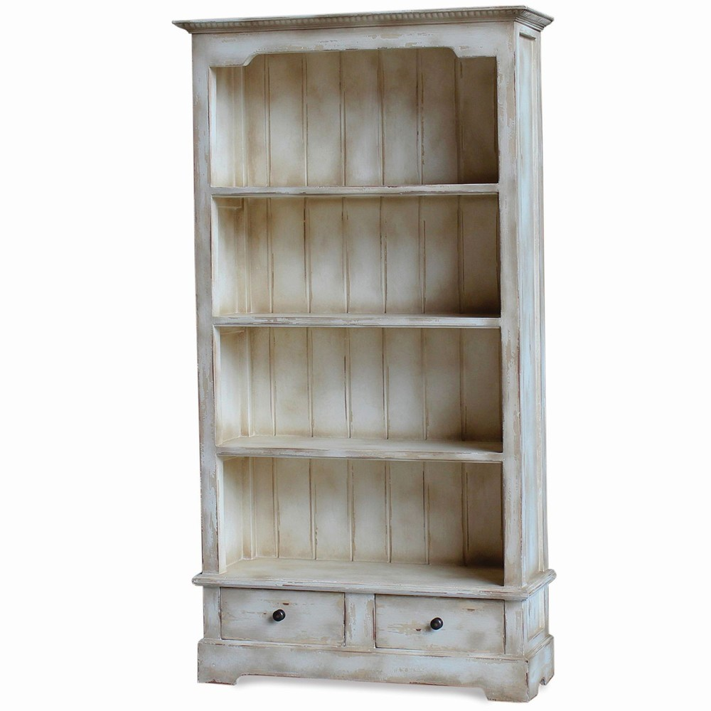 Bramble Company - Manchester Two Drawer Bookcase