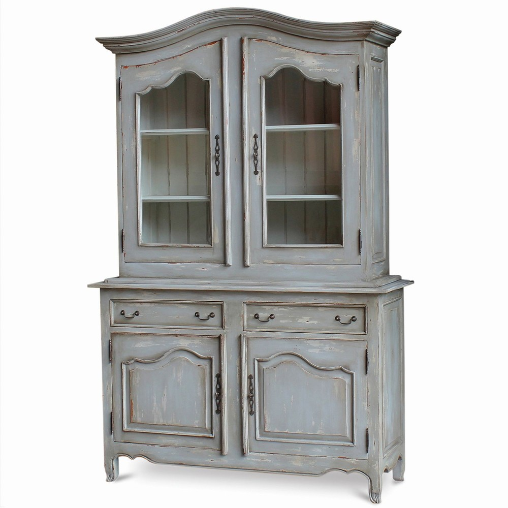 Bramble Company - Baroque Armoire w/ Two Glass Doors