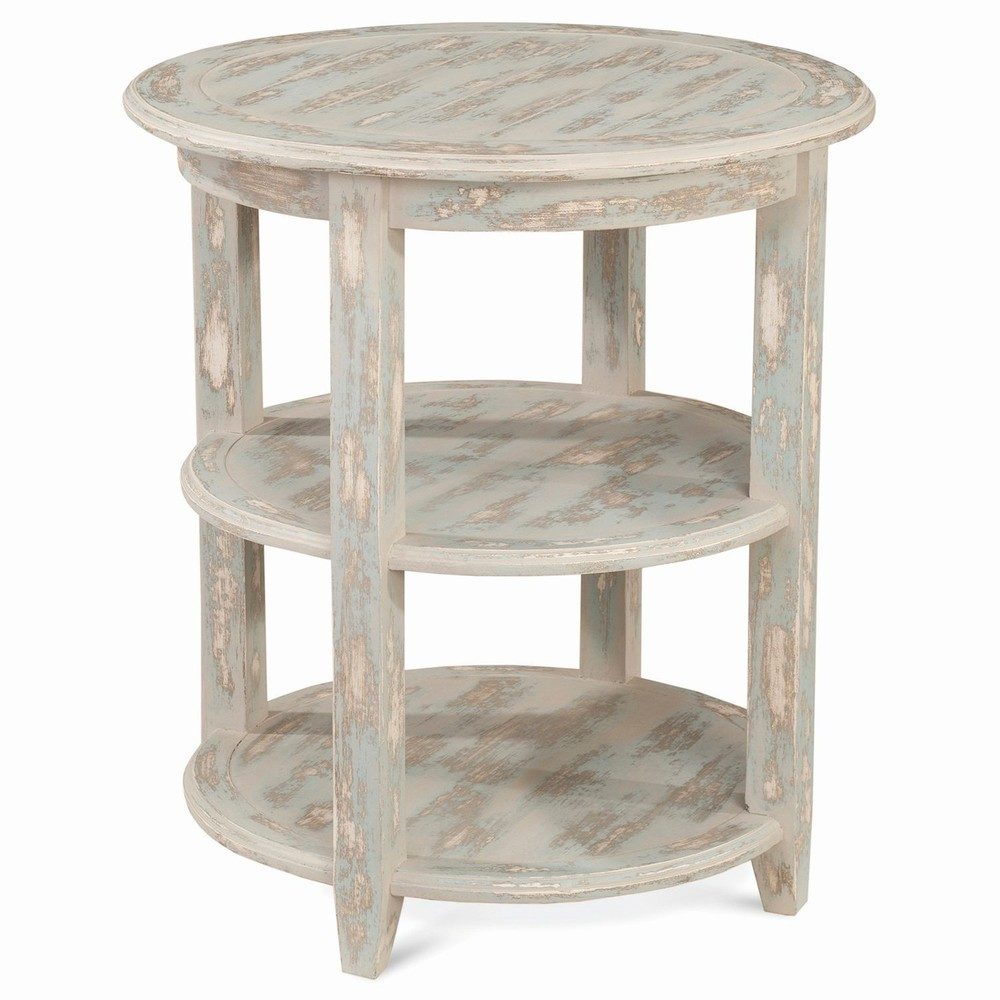 Bramble Company - Luna Round Three Tier Side Table