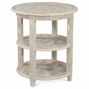 Thumbnail of Bramble Company - Luna Round Three Tier Side Table