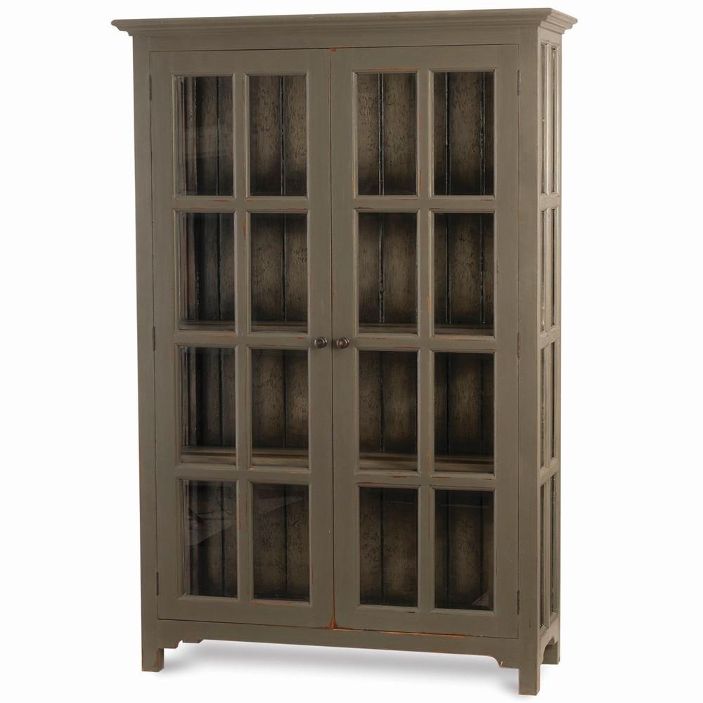 Bramble Company - Aries Glass Door Bookcase