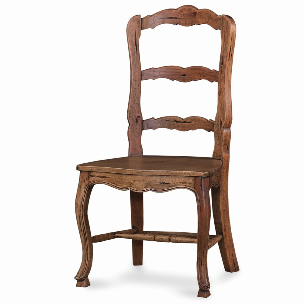 Bramble Company - Provincial Dining Chair w/ Wood Seat