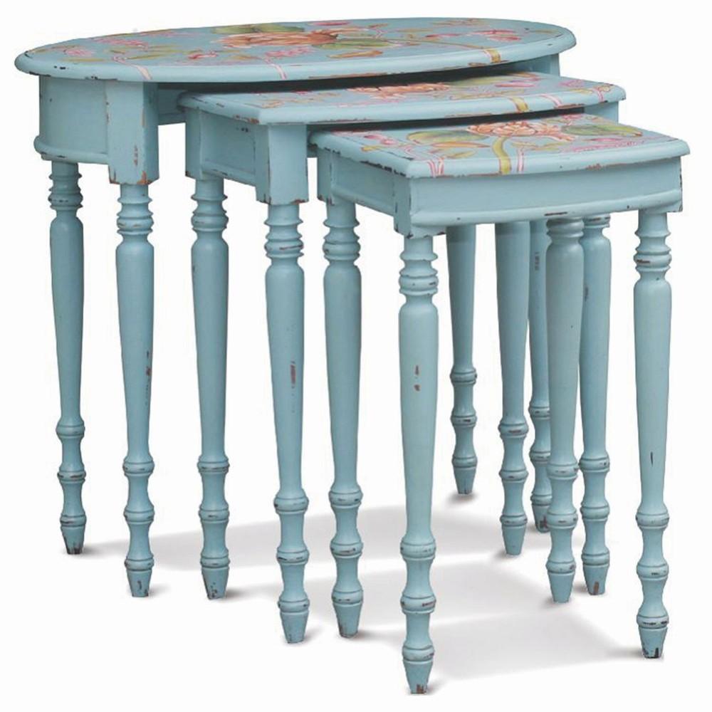Bramble Company - Tucker Oval Nesting Tables