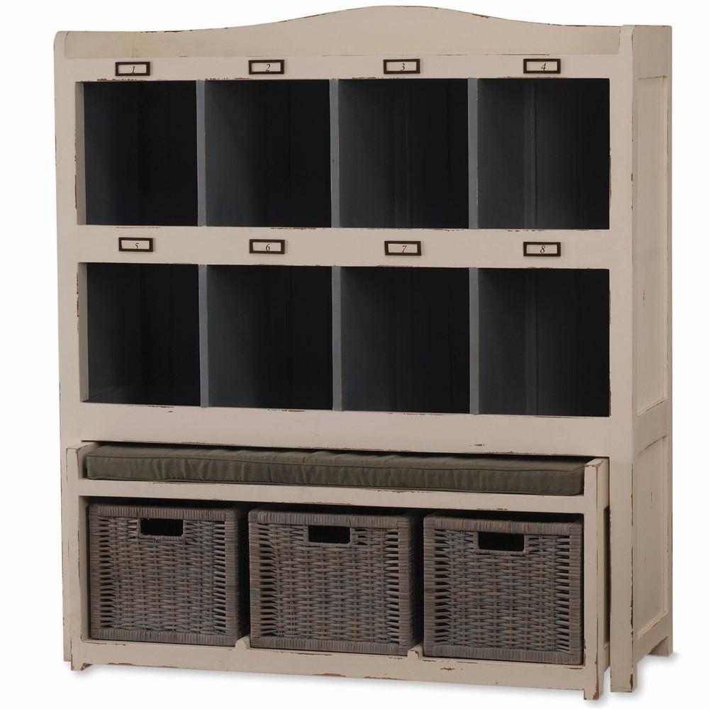Bramble Company - Hancock Storage Cabinet w/ Trundle Bench