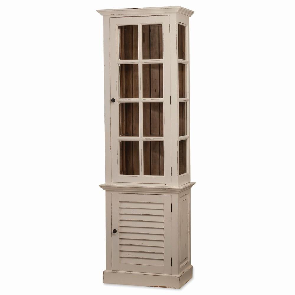 Bramble Company - Cottage Tall Cabinet w/ Glass