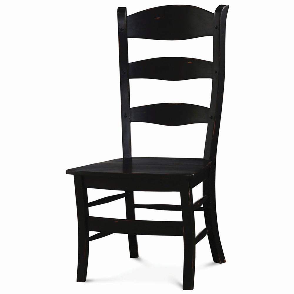Bramble Company - Peg & Dowel Ladderback Chair w/ Wooden Seat
