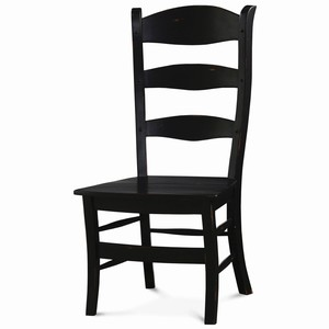 Thumbnail of Bramble Company - Peg and Dowel Ladderback Chair with Wooden Seat