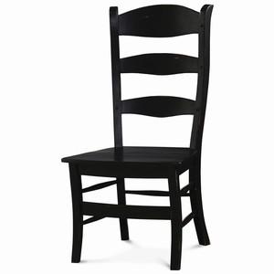 Thumbnail of Bramble Company - Peg & Dowel Ladderback Chair w/ Wooden Seat